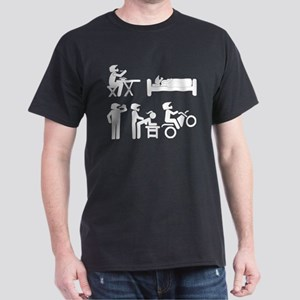 Dirt Bike Funny Helmet T-Shirt