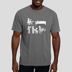 Dirt Bike Funny Helmet Mens Comfort Colors Shirt
