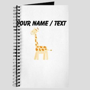 Cartoon Giraffe Journal
