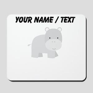 Cartoon Hippo Mousepad