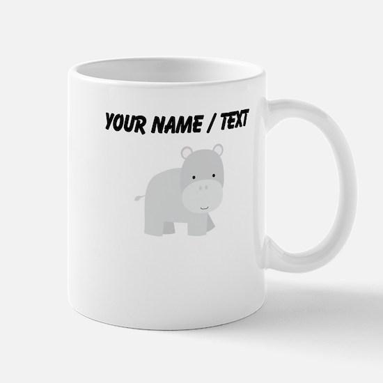 Cartoon Hippo Mug