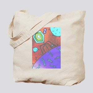 Bacteriophage Tote Bag