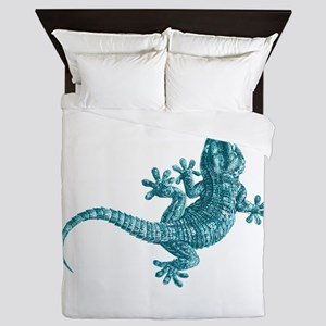 Gecko Queen Duvet