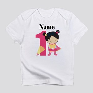 Girl Superhero 1 Infant T-Shirt