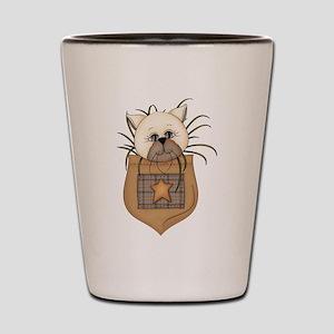 Pocket Kitty Cream Shot Glass