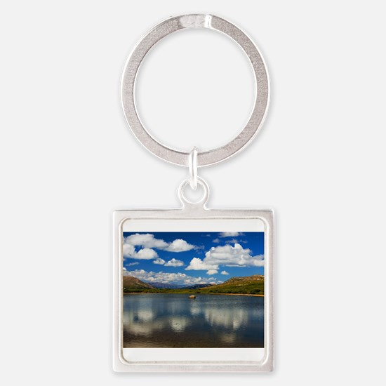 Alpine Lake on the Continental Divide Keychains