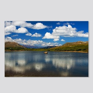 Alpine Lake on the Continental Divide Postcards (P