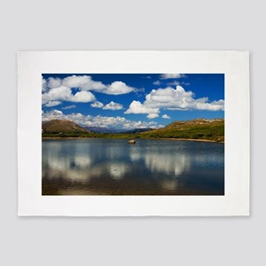Alpine Lake on the Continental Divide 5'x7'Area Ru