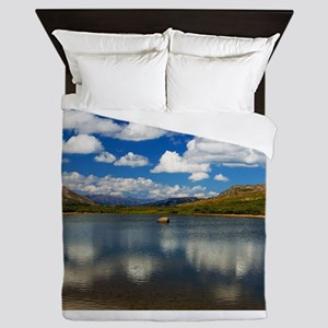 Alpine Lake on the Continental Divide Queen Duvet