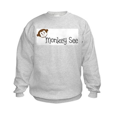 Monkey See Kids Sweatshirt