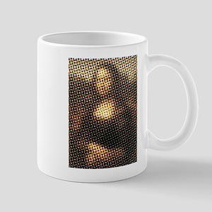 Mona Lisa Halftone Mug