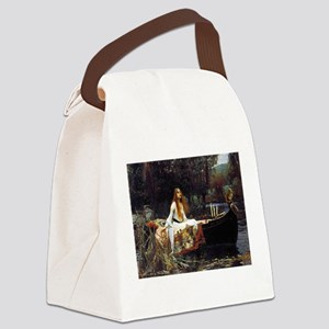 The Lady Of Shalott Canvas Lunch Bag
