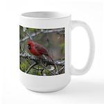 Cardinal in Apple Tree Large Mug