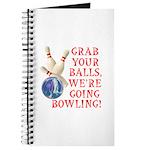 Grab Your Balls Bowling Journal