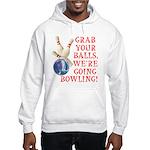 Grab Your Balls Bowling Hooded Sweatshirt