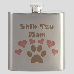 Shih Tzu Mom Flask