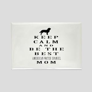 Keep Calm American Water Spaniel Designs Rectangle