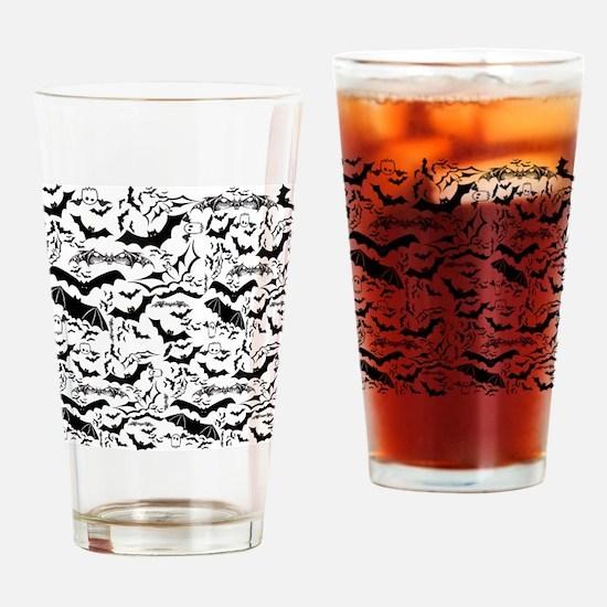 Bat Collage LG Drinking Glass
