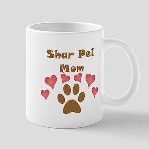 Shar Pei Mom Small Mug