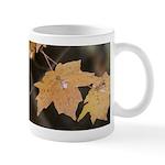 Pale Orange Leaf Mug