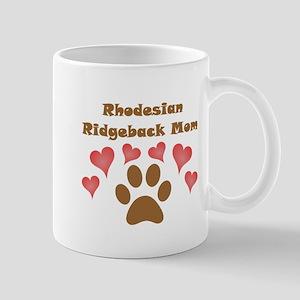Rhodesian Ridgeback Mom Small Mug