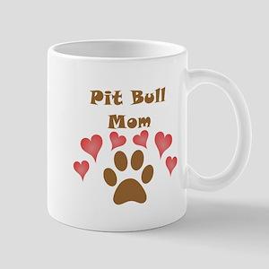 Pit Bull Mom Small Mug