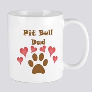 Pit Bull Dad Small Mug
