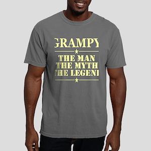 Grampy The Man The Myth Mens Comfort Colors Shirt