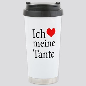 I Love Aunt (German) Mugs