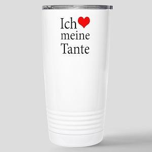 I Love Aunt (German) Mugs
