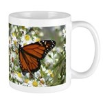 Monarch Butterfly on Wild Aster Mug