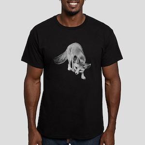 Fennec Desert Fox Men's Fitted T-Shirt (dark)