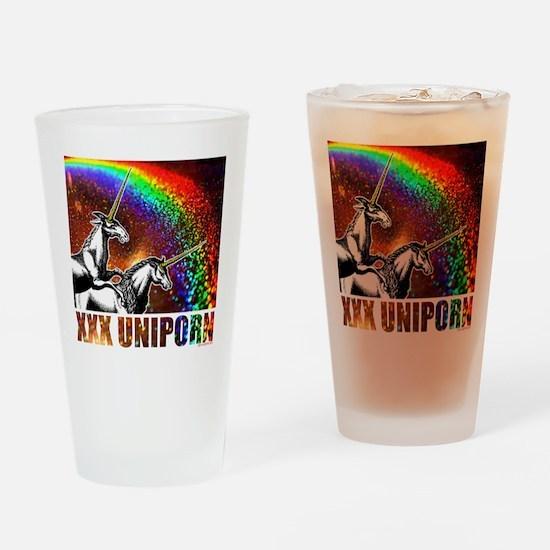 XXX Uniporn Drinking Glass