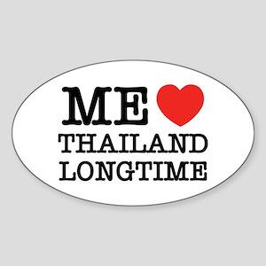 ME LOVE THAILAND LONGTIME Sticker