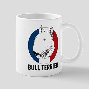 Bull Terrier French Flag Mug