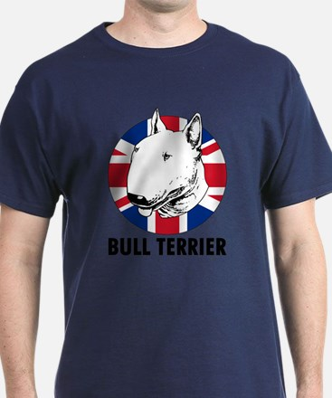 Bull Terrier English Flag T-Shirt
