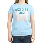 Queen of the Geeks Women's Pink T-Shirt