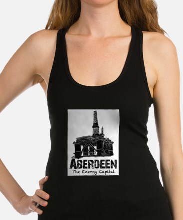 Aberdeen - the Energy Capital (black) Racerback Ta