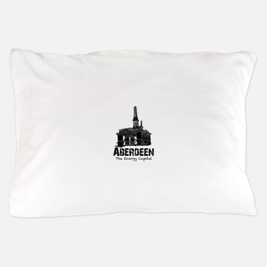 Aberdeen - the Energy Capital (black) Pillow Case