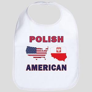 Polish American Pride Map Bib