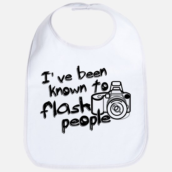 Flash People Bib