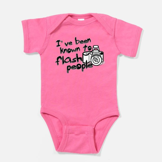 Flash People Baby Bodysuit