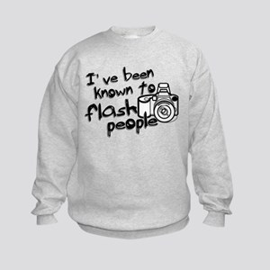Flash People Kids Sweatshirt