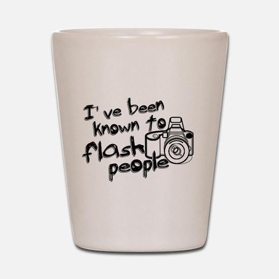 Flash People Shot Glass