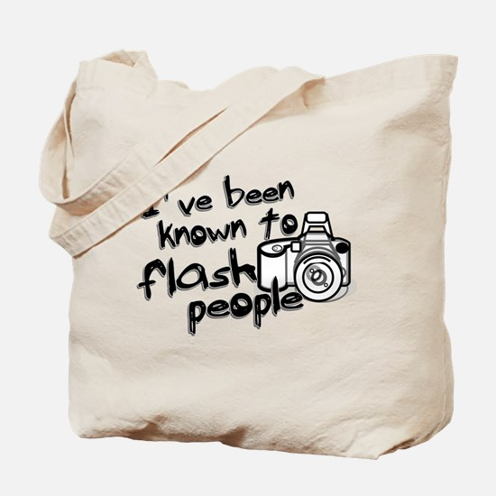 Flash People Tote Bag