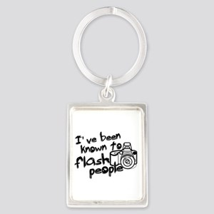 Flash People Portrait Keychain