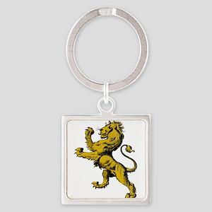 Rampant Lion Keychains