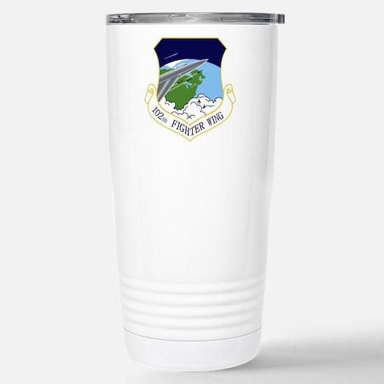 102nd FW Stainless Steel Travel Mug