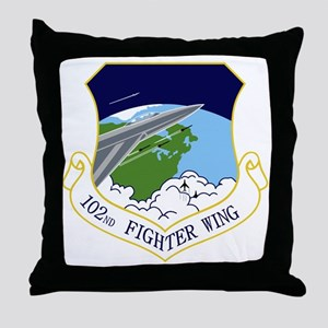 102nd FW Throw Pillow