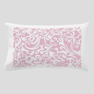 Baby Pink & White Swirls #2 Pillow Case